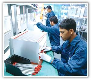metal sheet assembly line