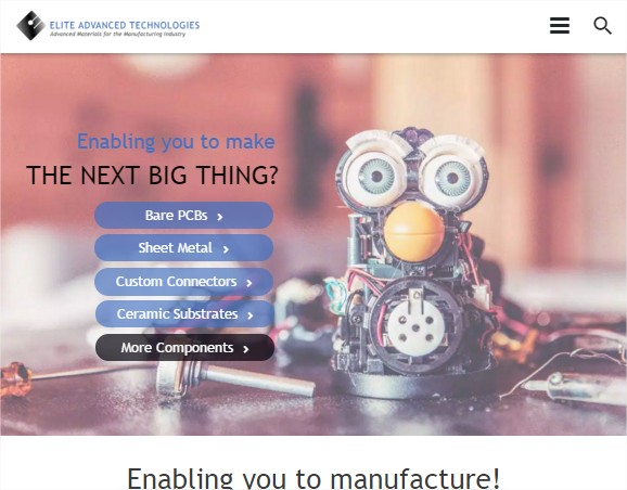 Elite Advanced Technologies launches its new website