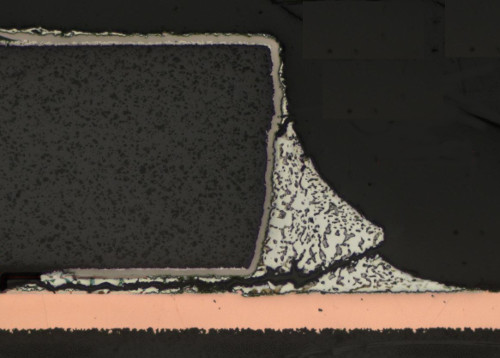 How to resolve solder joint cracks due to thermal mismatch